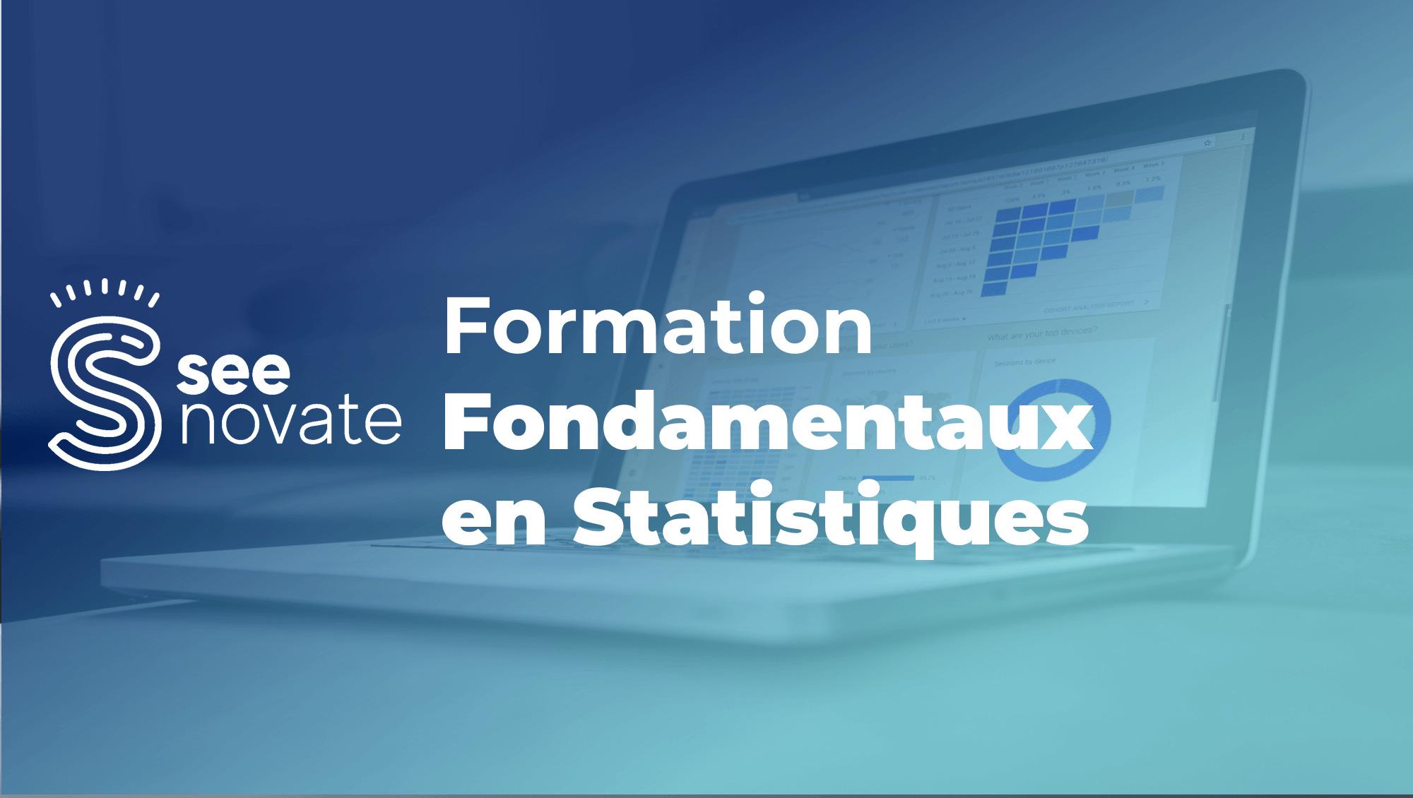 Fondamentaux en statistiques – Analyse descriptive et tests d'hypothèses